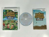 NINTENDO WII ANIMAL CROSSING: CITY FOLK GAME | WITH MANUAL; TESTED & WORKING
