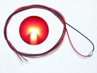 S984 - 10 Stück SMD LEDs 0805 rot mit Kabel Microlitze fertig angelötet