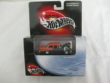 Hot Wheels 2000 Cool Collectibles '56 Chevy Brown & Orange Mint In Box