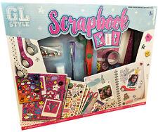 Kids Make Your Own Scrapbook Kit Personal Journal Memory Book DIY Craft Set 0709
