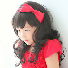 L6CV Baby Girl Wig hair Toddler Child Costume Straight Adjustment M14-146 45cm