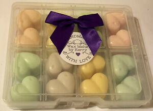 Highly Fragranced Scented Soy Wax Melt Sample Gift Box Laundry Unstoppable Scent