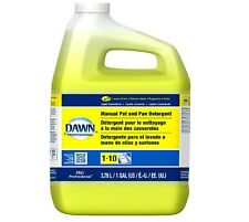 1 Gallon Dawn Lemon Scent Dishwashing Liquid Detergent Professional Dish Soap