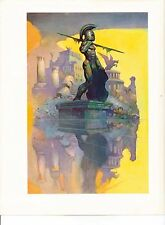 "1975 full Color Plate ""Atlantis"" by Frank Frazetta Fantastic GGA"