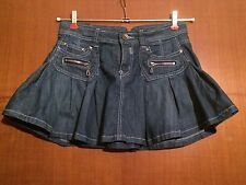 Mini Gonna Jeans. 95% Cotone. Taglia 42. By MISS SWAN Classic Jeans.