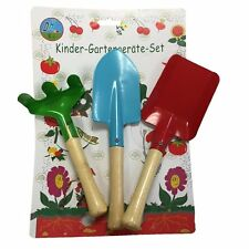 3pcs Gardener Tools Trowel Rake Shovel Home Gardening Children Kids Garden Kit