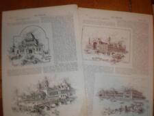 Articles World's Fair Chicago USA 1893