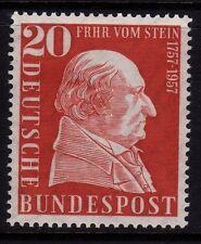 W Germany 1957 Baron vom Stein SG 1196 MNH