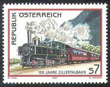 Austria 2001 Trains/Steam Engine/Locomotives/Railways/Rail/Transport 1v (n23505)