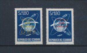 LO42101 Ecuador overprint Columbus' lighthouse fine lot MNH