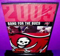 Bang For The Bucs 2003 Tampa Bay Buccaneers DVD Brand New B552