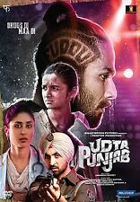 UDTA PUNJAB DVD - 2016 BOLLYWOOD MOVIE DVD / SHAHID KAPOOR KAREENA KAPOOR