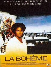 """Affiche 120 x 160 du film """"LA BOHEME"""" de Luigi Comencini avec Barbara Hendricks"""