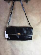 ZARA BLACK BAG WITH BEIGE PIPING REF: 8453 204