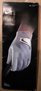 NIKE - Hand Right Size XL NIKE Men's Tech (Right Regular) Golf Glove, White