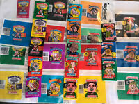 1985-1988 Garbage Pail Kids Series 3-15 Wax Packs & Wrappers + OS2 & UK Mini 1