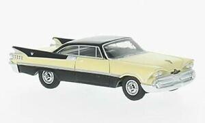 HO 1:87 BOS # 87056 - 1959 Dodge Custom Royal Lancer 2-Door Coupe Yellow/Black