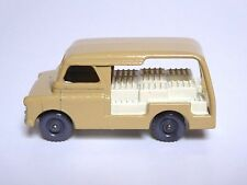 Matchbox Lesney No.29a Bedford Milk Delivery Float (GREY PLASTIC WHEELS GC!)