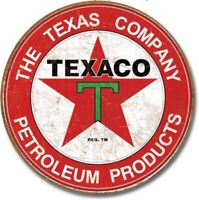 Texaco Motor Oil Metal Tin Sign Gas Garage Man Cave Home Decor The Texas Company