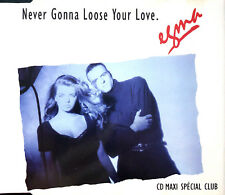 Egma ‎Maxi CD Never Gonna Loose Your Love - France (EX/EX)