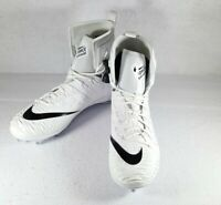 Nike Mens Force Savage Elite D Promo Football Cleats White 923088-101 Size 15