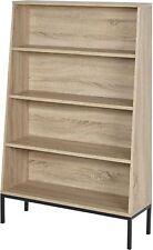 Tesco Kanabu Modern 4 Shelf Bookcase - (natural Wood Effect)