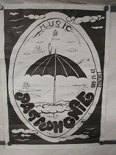 Pataphonie Feeri Music Rare 1970s Original Poster French Prog Space Avant Rock
