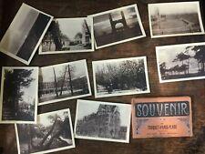 Le Touquet, France - Vintage Postcard collection 10 in art nouveau holder