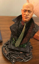 The MATRIX mini bust Morpheus Gentle Giant~ Good Condition -LE 1500 Rare # 03942