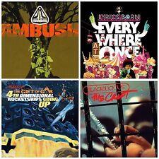 4 used CD lot LYRICS BORN,GIFT OF GAB,BLACKALICIOUS,LATEEF AND THE CHIEF/MAROONS