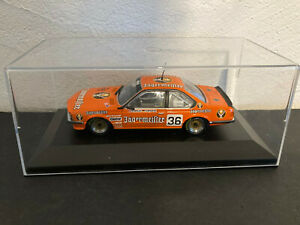 1/43 Minichamps BMW 635 csi Brun/Grohs Jagermeister Monza 1984 TBE + boite neuve