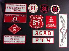 Hells Angels Utrecht Holland support sticker sheet