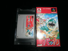 Super Nintendo sfc Snes -  HARAPEKO BAKKA hungry dinosaurs - boxed jap