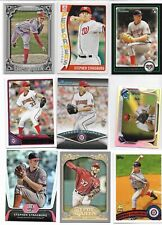 Stephen Strasburg,   35 Different Card Lot  / 2010 Bowman Draft RC + Inserts