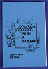 Morris Costumes New 72 Pages Gospel Magic With A Message Soft Bound Book. Ra11