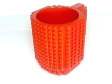 'LEGO' New Build On A Brick Mug, Coffee Cup DIY Red BPA Free