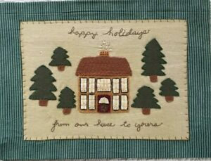 Happy Holidays From Our House to Yours Christmas Crafts in Felt & Gingham**