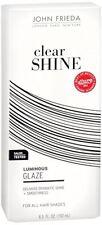 John Frieda Clear Shine Luminous Glaze for All Hair Shades, 6.5 oz (Pack of 6)