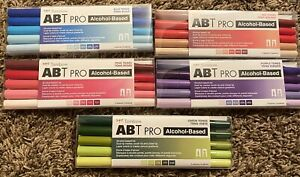 LOT BRAND NEW Tombow ABT Pro Alcohol Based Marker Sets