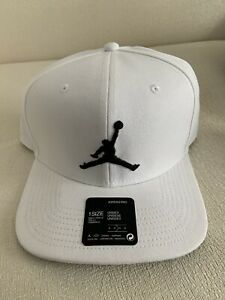 Air Jordan X Nike Pro Jumpman Classics Snapback AR2118-101 White Cap Hat NEW