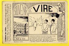 cpa Normandie SOUVENIR de VIRE (Calvados) L'Hôtel de Ville, L'Andouille