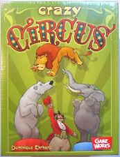 Board Game - Crazy Circus - Reaction Card Game Works Animals