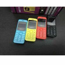 MINI CELLULARE TASCABILE M8110 DUAL SIM BLUETOOTH GSM SCHERMO A COLORI GIALLO