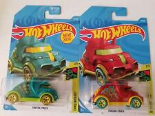 2019 Hot Wheels Dino Riders 1/5: Tricera-Truck (Teal & Red)