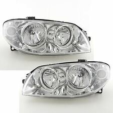 Fiat Punto Mk2 2003-2006 Headlights Headlamps 1 Pair O/S And N/S