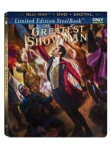 El Mayor Showman (Blu-Ray/DVD / Digital) Acero Libro Best Comprar Exclusivo