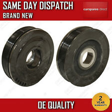 CRANKSHAFT PULLEY FOR RENAULT MEGANE , SCENIC , LAGUNA 2.0 2005>ON 2YR WARRANTY