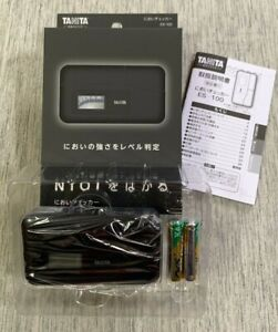 New TANITA ES-100-BK ES100BK Odor Smell 10 Steps Checker Body Black JPN Tracking