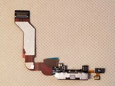 Apple OEM Charge Port Dock Connector Flex Cable - iPHONE 4S A1387 A1431 - BLACK