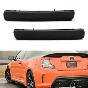 OE-Spec Smoke Rear Bumper Reflector Lens Assy For 12-17 Toyota Prius V, Scion tC